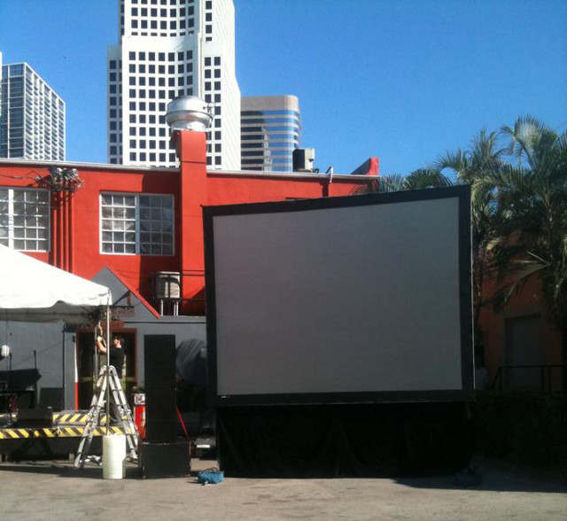 Projection rental